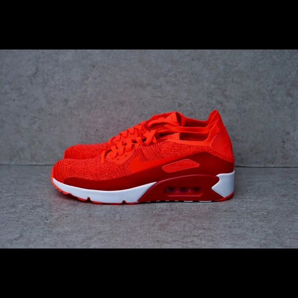 super popular 21965 190eb Nike Air Max 90 Ultra 2.0 Flyknit Red